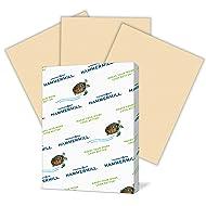 Hammermill Colored Paper, Tan Printer Paper, 20lb, 8.5x11 Paper, Letter Size, 500 Sheets / 1 Ream, Pastel Paper, Colorful Paper (102863R)