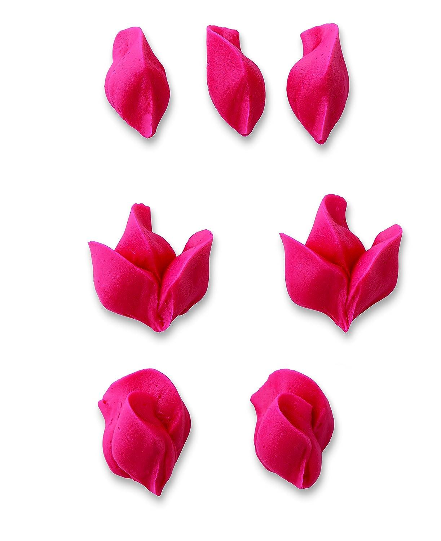 foglia 352 e fiore 22 Wilton Set di puntine decorative a forma di petalo 104