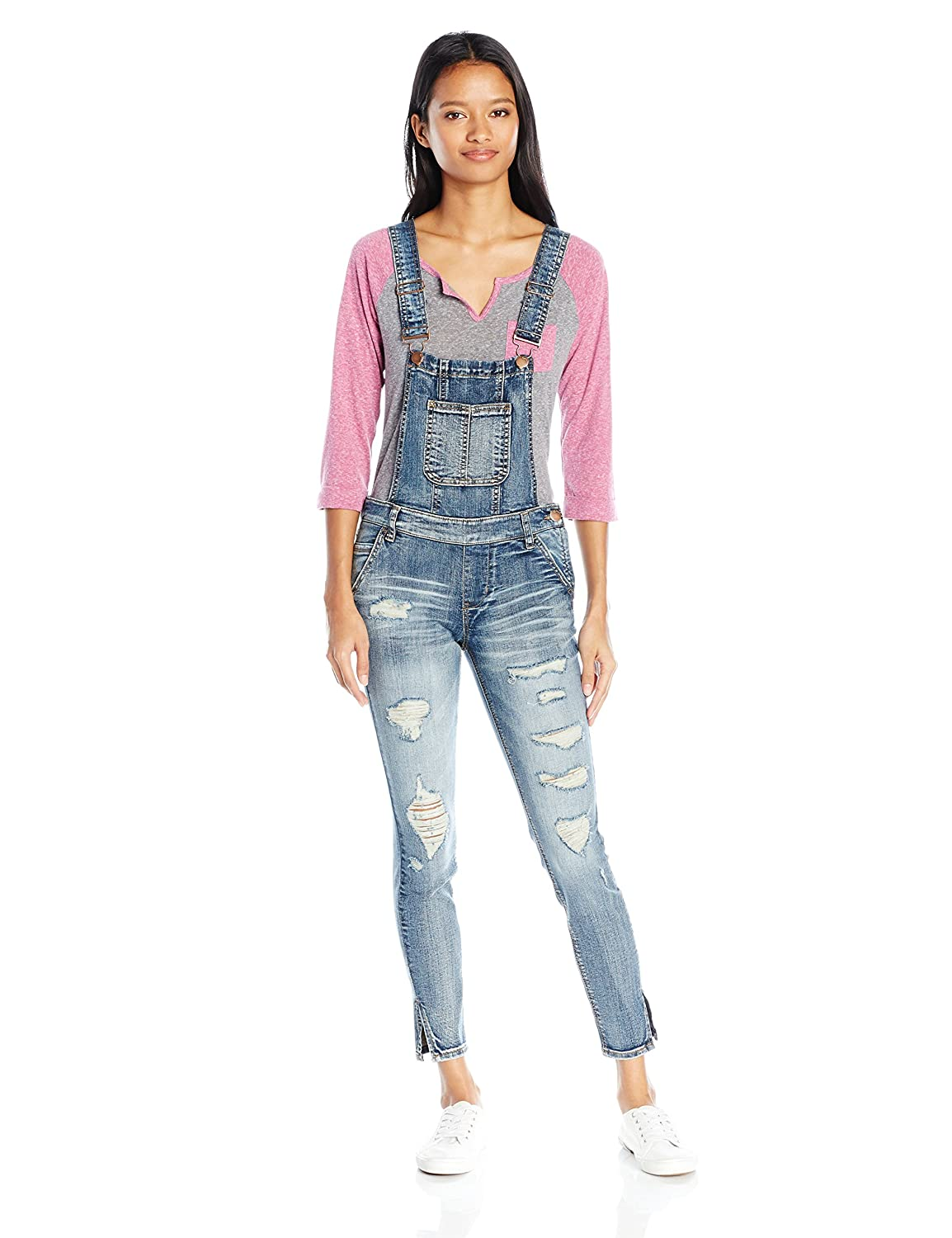 dollhouse Women's Complete Destruction Overall Dollhouse Apparel 7202