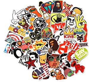 CHNLML Love Sticker Pack 100-Pcs,Cool Sticker Decals Vinyls for Laptop,Kids,Cars,Motorcycle,Bicycle,Skateboard Luggage,Bumper Stickers Hippie Decals Bomb Waterproof(Not Random) (C)