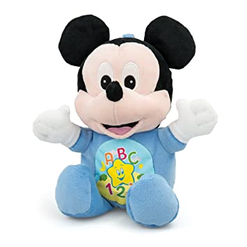 Clementoni - Ratón de peluche Mickey Mouse (214635-WM)