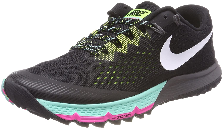 Nike Air Zoom Terra Kiger 4, Zapatillas de Running para Hombre 45 EU|Negro (Negro/Blanco/Voltio/Hyper Turquesa 001)