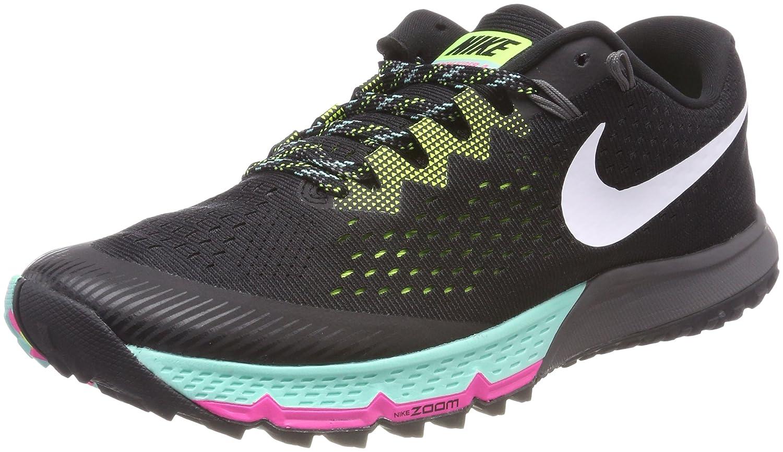 Dirección Felicidades Nublado  Buy Nike Mens Zoom Terra Kiger 4 Trail Running Shoes Black/White/Volt  880563-001 Size 9. 5 at Amazon.in