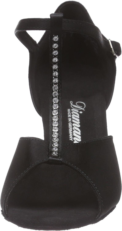 Diamant Womens Damen Latein Tanzschuhe 025-087-091 Ballroom Dance Shoes 6