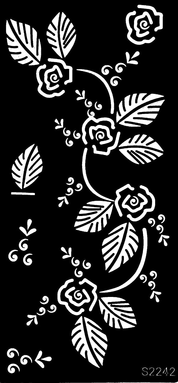 Tattoo Pochoir modèle fleurs Designs s2210 Beyond