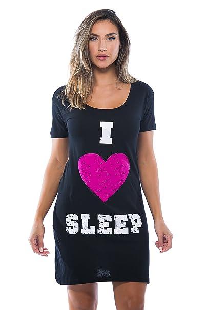 2cc7fad04f0 Just Love Sleep Dress Women Sleeping Dorm Shirt at Amazon Women s ...