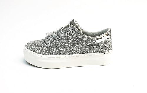 Sweet Years - Zapatos de cordones de Material Sintético para mujer Varios Colores multicolor 36 Varios Colores Size: 36 E3Sywcx