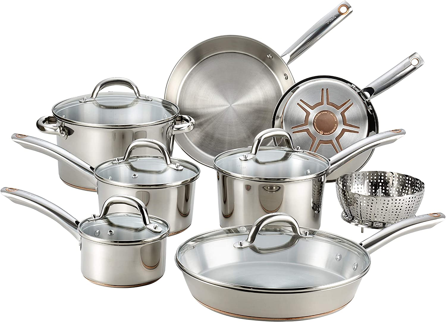 Ultimate Stainless Steel Copper Bottom