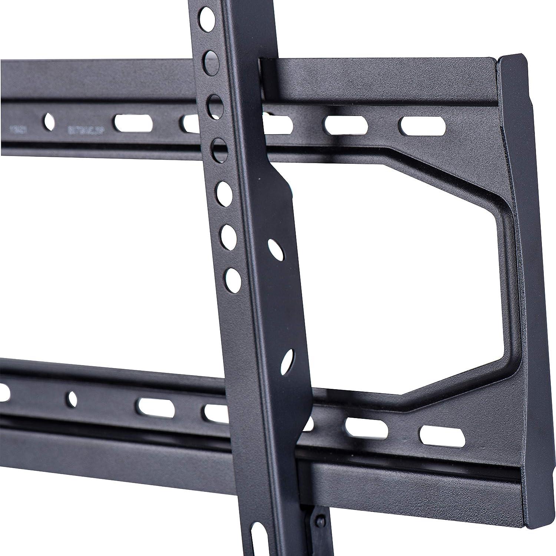 32-70 para televisi/ón gama Essentials Basics Soporte de pared plano de bajo perfil con riel de 81,3 a 177,8 cm