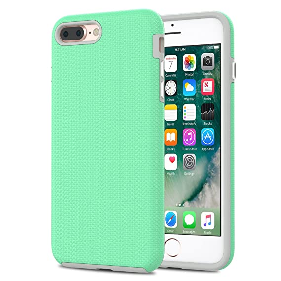 green phone case iphone 8 plus