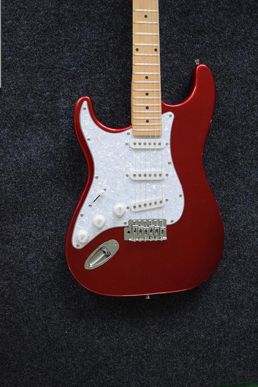Juego de 3 pastillas de guitarra eléctrica Alnico de color blanco, puente central para guitarra eléctrica SSS estilo Stratocaster: Amazon.es: Instrumentos ...