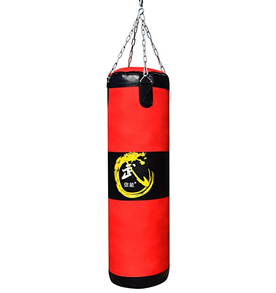 San Heng Fire Boxing Punching Bag Heavy Bag Training Fitness Indoor For Gym (Punching Bag) by San Heng Fire