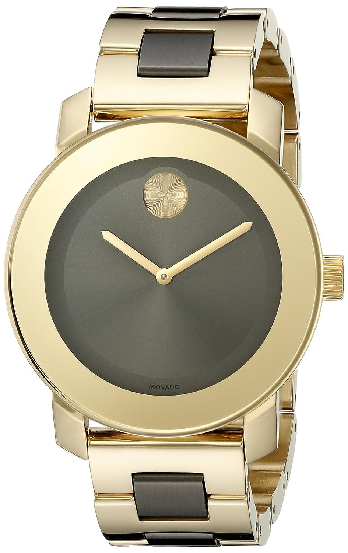 Movado Women s 3600338 Analog Display Swiss Quartz Two Tone Watch