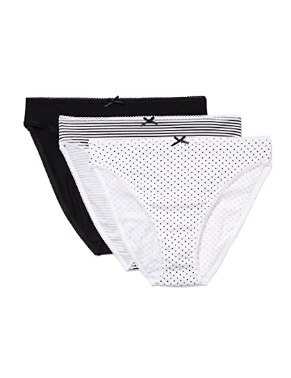 4907bb4eb71 Amazon.com: Amazon Brand - Iris & Lilly Women's Cotton Bikini Brief ...