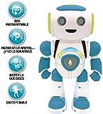 LEXIBOOK Robot Inteligente Powerman Junior Educativo e Interactivo, Lee la Mente, Baila, Toca Musica, Repite Las Frases…