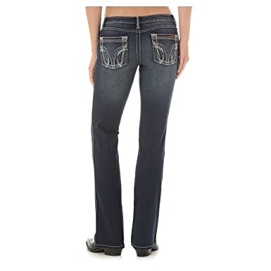 e6df032f Wrangler Women's Retro Sadie Low Rise Jean Boot Cut (19x34) at ...