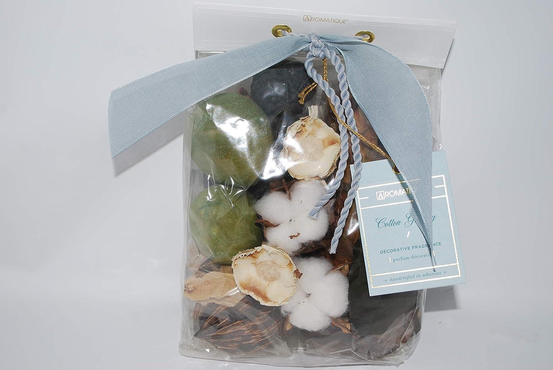 Aromatique Cotton Ginseng Potpourri Decorative Home Fragrance 11oz Pocketbook Bag