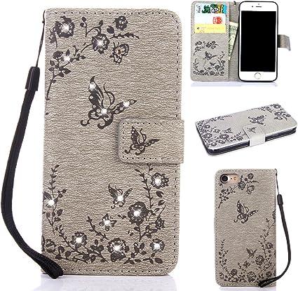 Coque Iphone 6 Case, coque étui à rabat en cuir iPhone 6S, 3D ...