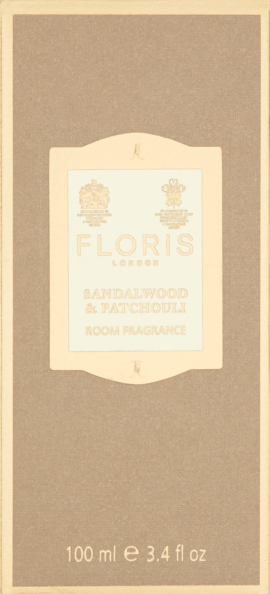 Floris London Sandalwood & Patchouli Room Fragrance, 3.4 Fl Oz by Floris London (Image #3)