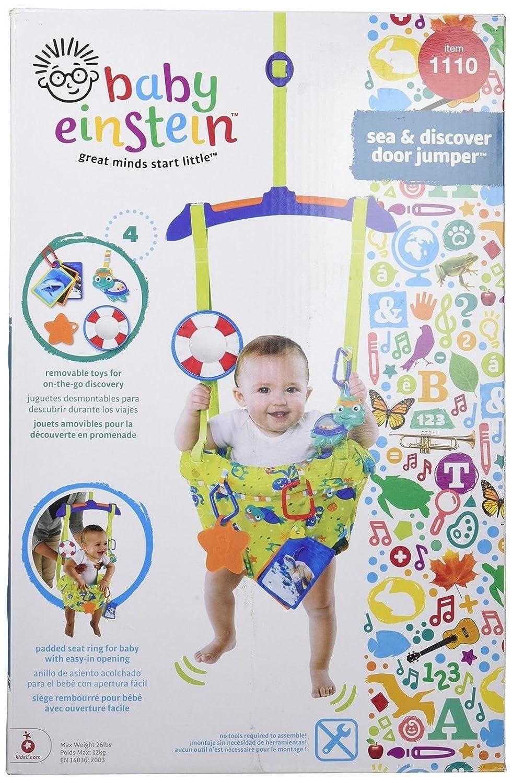 Baby Jumper Door Bouncer Einstein Sea & Discover Door 4 Months + Fun Toy New buyonlineforbaby