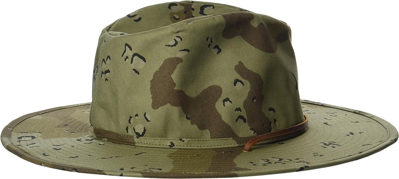 Brixton Mens Ranger Ii Wide Brim Canvas Hat