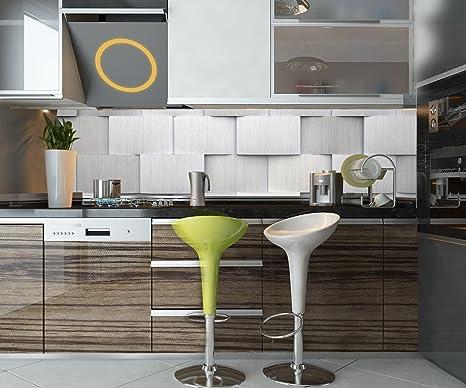 retrocucina Muro Una Stanza a Piastrelle 3D Design M0800 210 ...