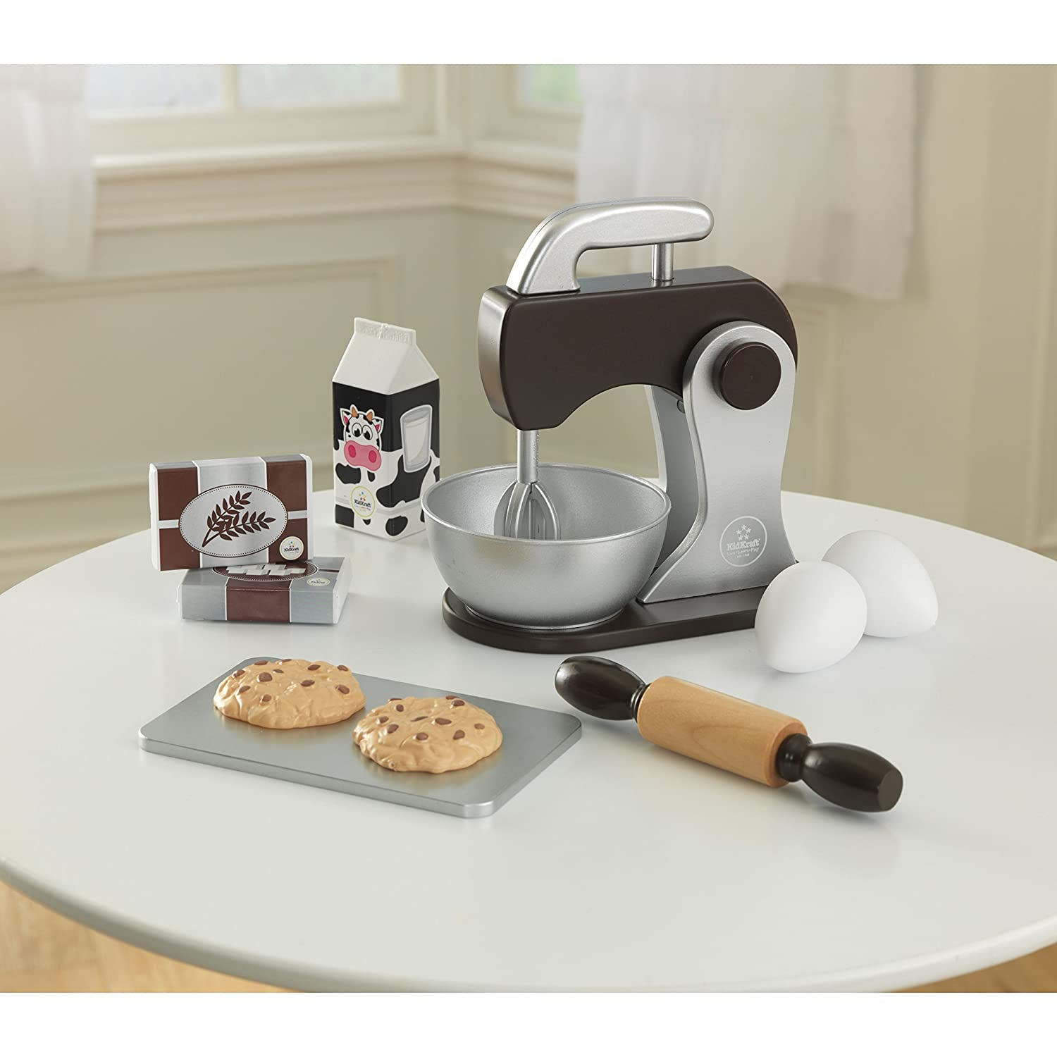 Espresso Role Play Toys for The Kitchen KidKraft Childrens Baking Set