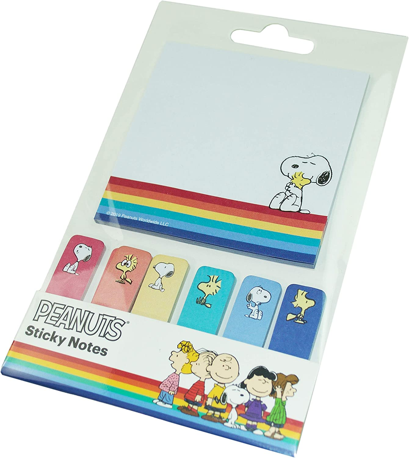 PEANUTS SNOOPY Christmas STICKY NOTES PADS SET OF 4 DIFFERENT ONES NEW