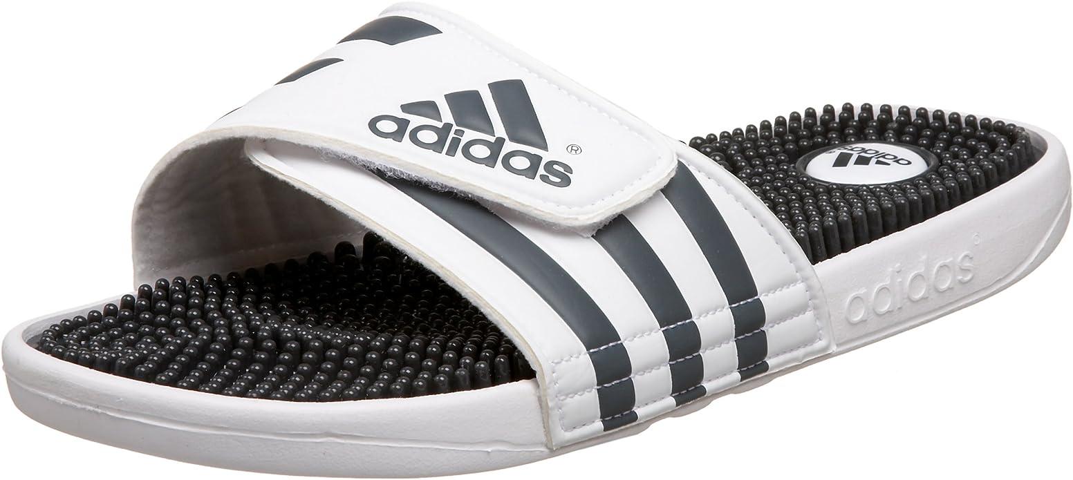 adidas Men's Adissage Sandal Run White
