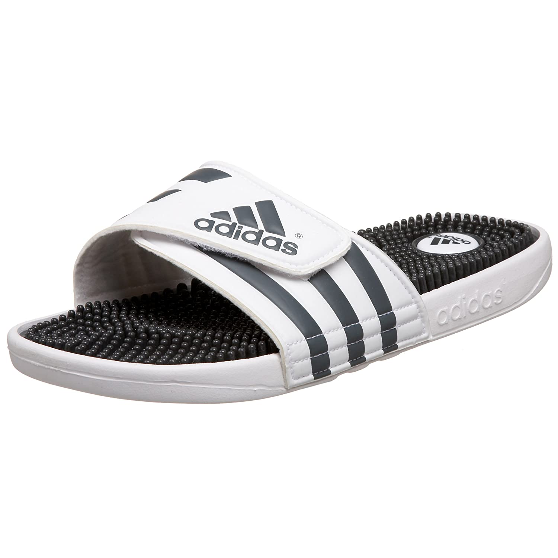 adidas Men's Adissage Sandal Run WhiteGraphiteRun White