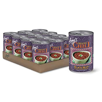 Amy's Organic Black Bean 14.7-ounce Canned Chili