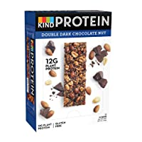 KIND Double Dark Chocolate- High Protein Bars- Low Carb Snack- 12x 50g
