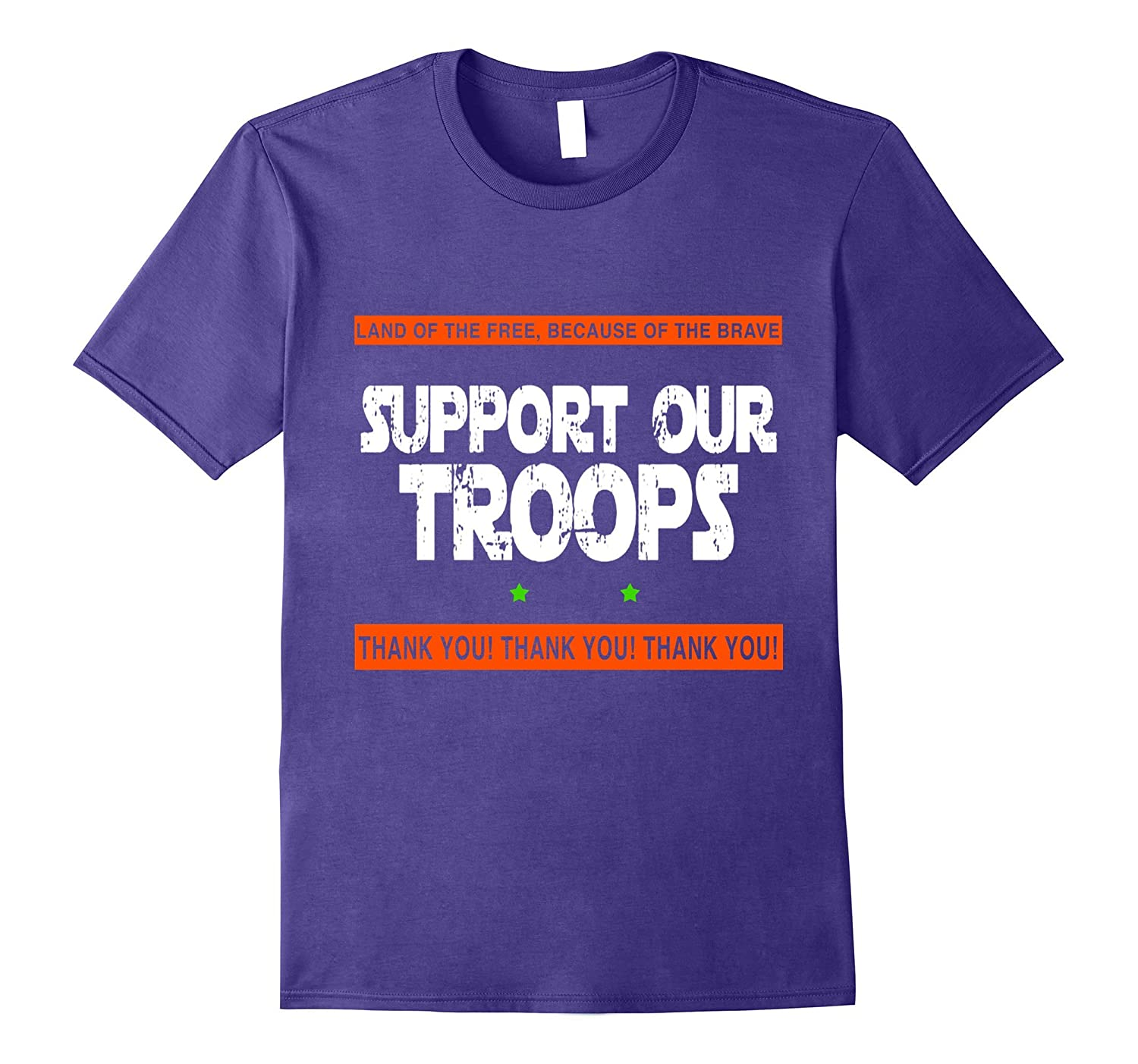 Support Our Troops Armed Forces Day Military T-Shirt-CD