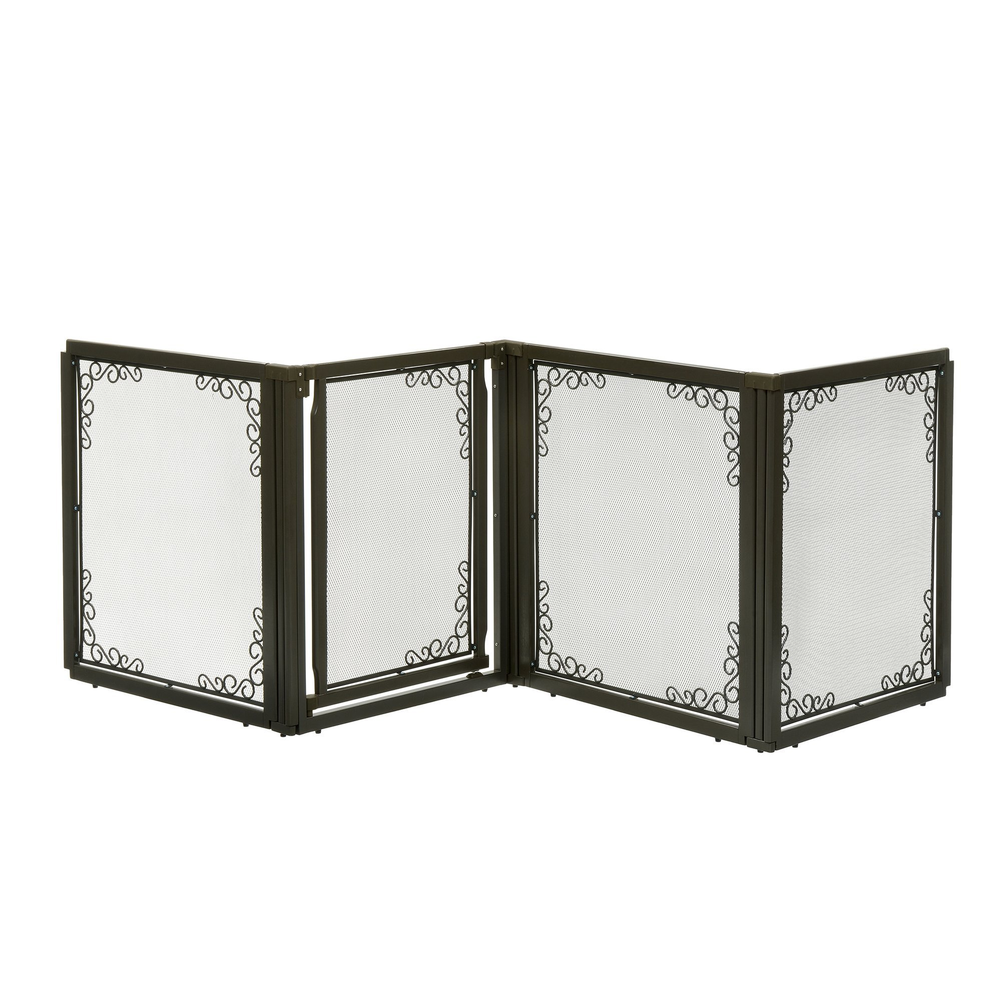 Richell Convertible Elite Mesh Pet Gate 4 Panel by Richell