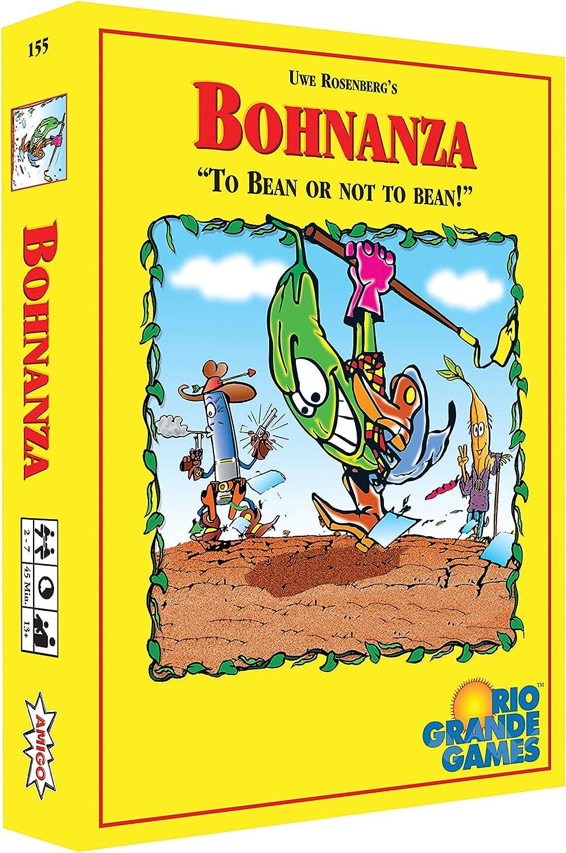 Rio Grande Games Bohnanza (versión en inglés): Amazon.es: Juguetes y juegos