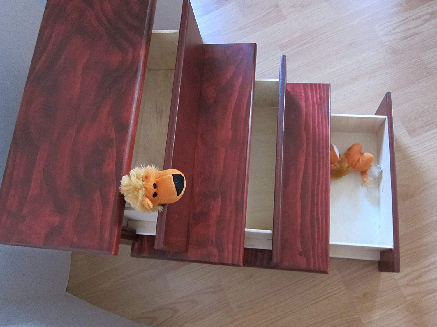 18' Pet Stairs with Storage Drawers