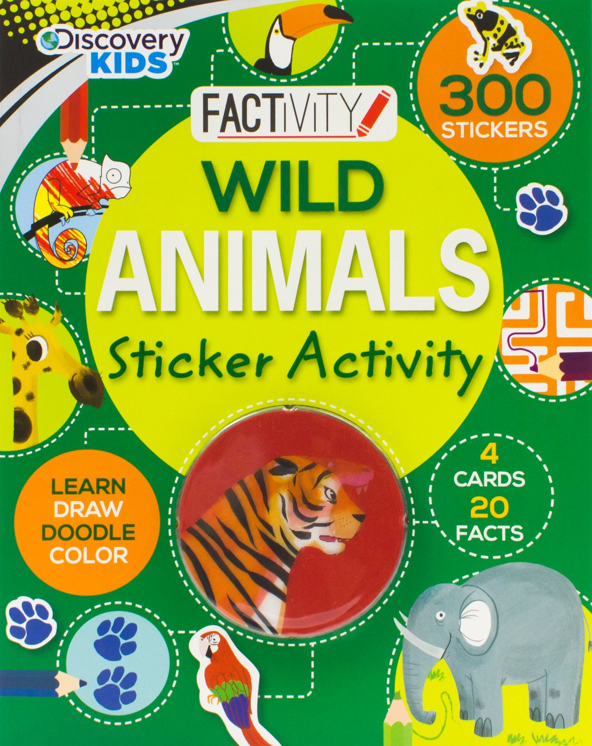 Wild Animals Discovery Parragon Books product image