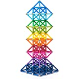 BANBBY 145pcs Magnetic Building Blocks Set Toy Magnet Game for Kids Upgraded 1.3in Sticks (10 Colors)