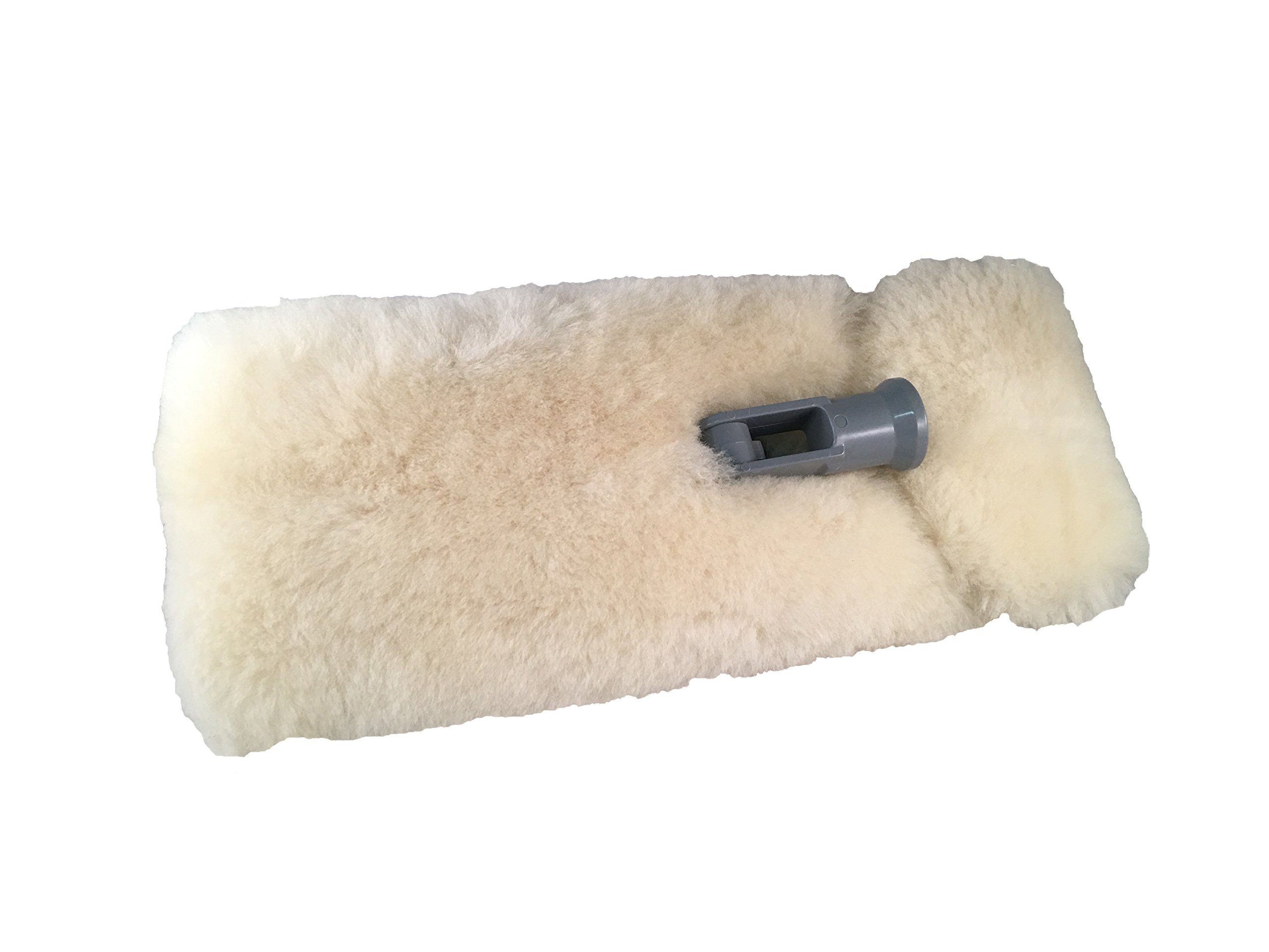 Mary Moppins 13'' Pure 100% Lambswool Wash and Pad Holder