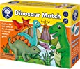Orchard Toys Dinosaur Match - A Fun Matching Game - Age 3-7 - Perfect for Home Learning, Multi