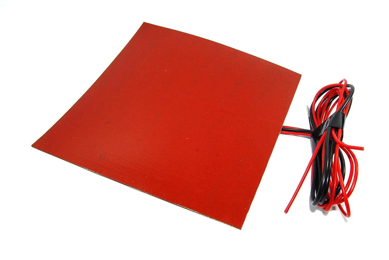 12 V 150 W Flexible calefacción Mat 200 x 200 mm NTC 3950 3d Brew termistor: Amazon.es: Industria, empresas y ciencia