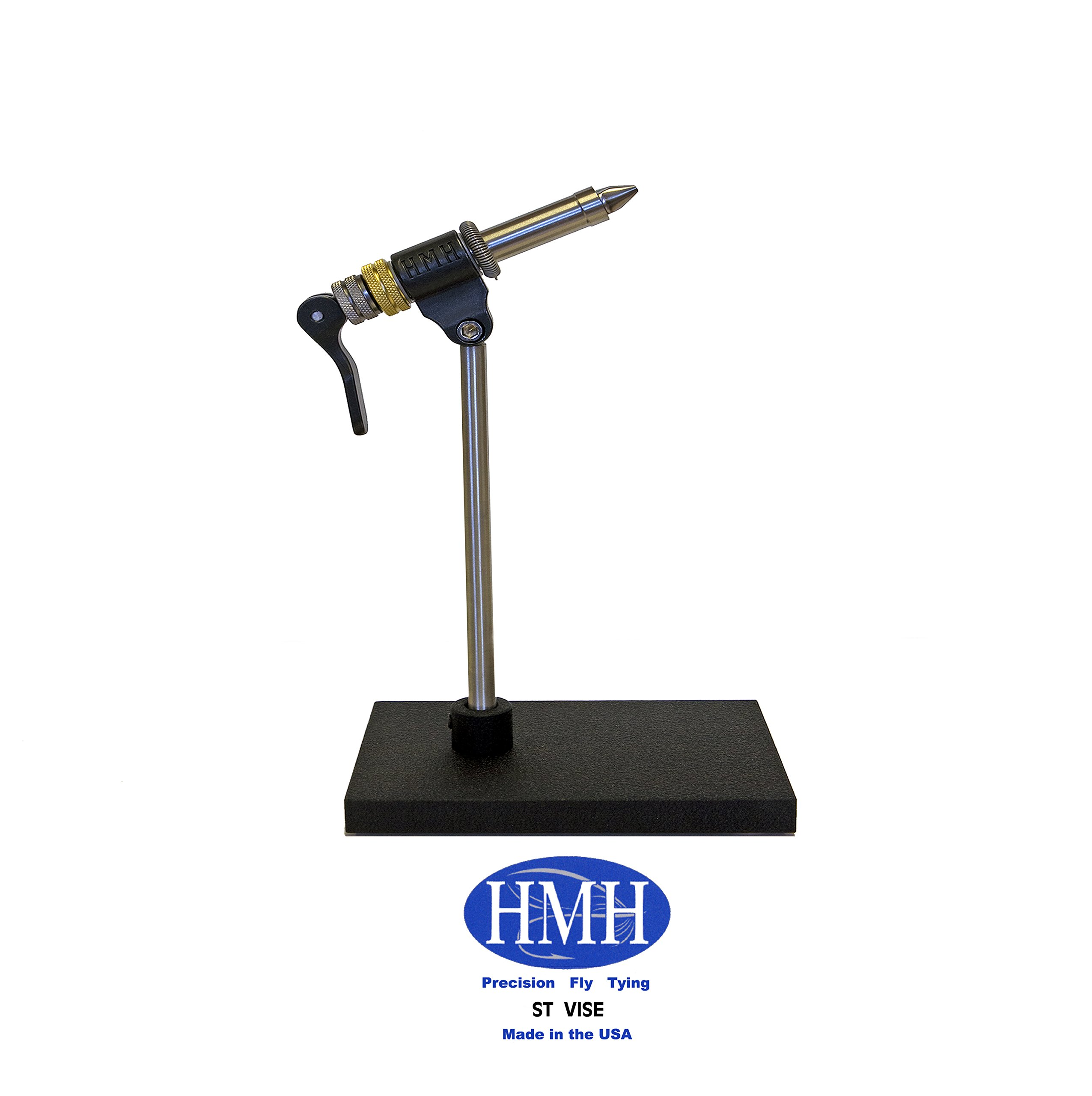 HMH ST VISE with Omni Jaw. CNC Machined in the USA. (Pedestal Model)