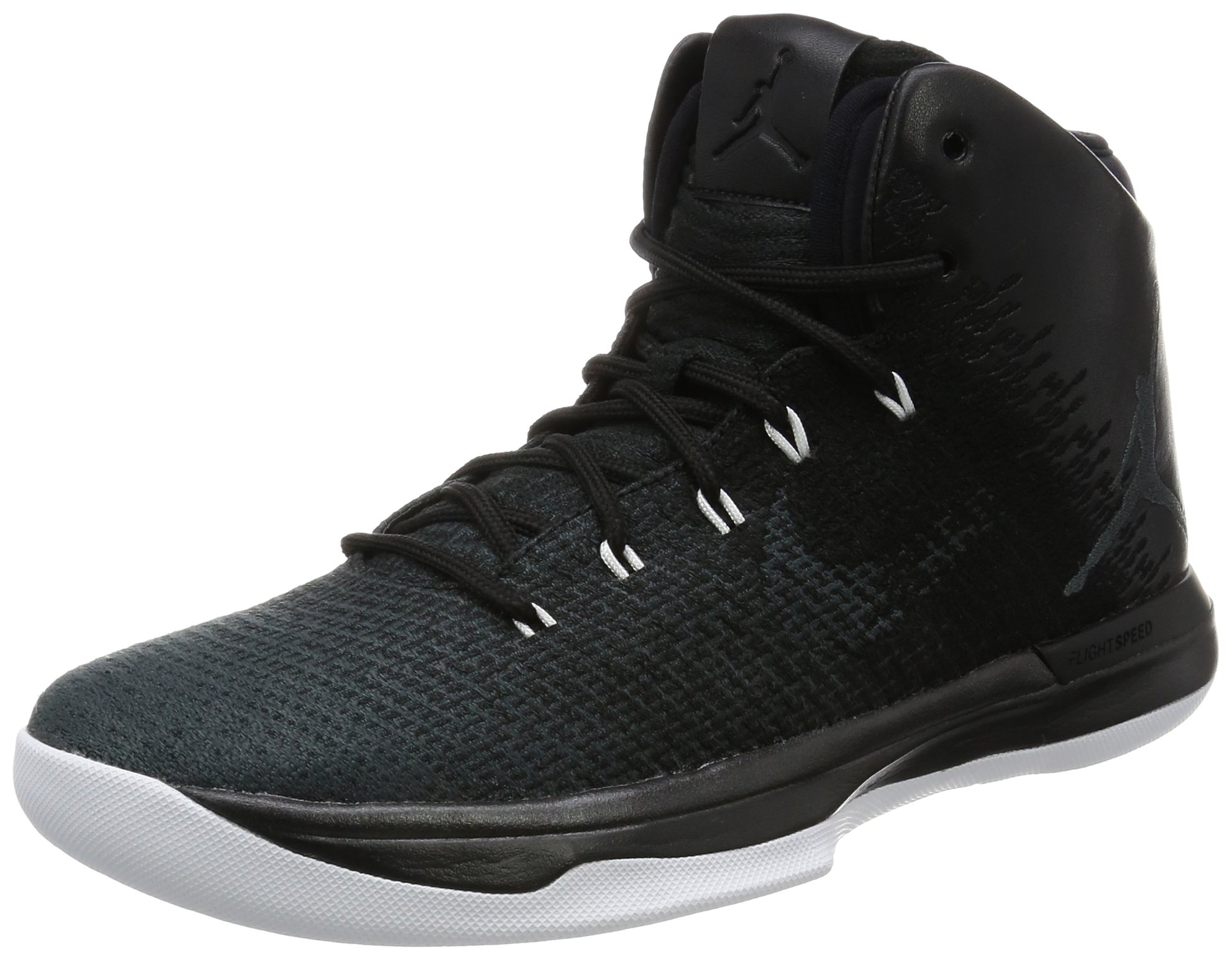 Jordan Mens Air XXXI, Black/Anthracite-White, 9.5 M US
