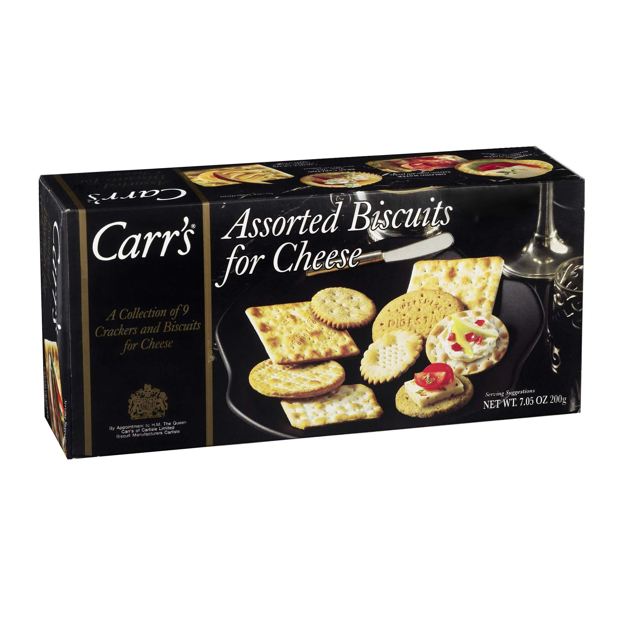Carr's Assorted Biscuits for Cheese, Nine Varieties, 7.05-Ounce Boxes (Pack of 12) by Carr's (Image #1)