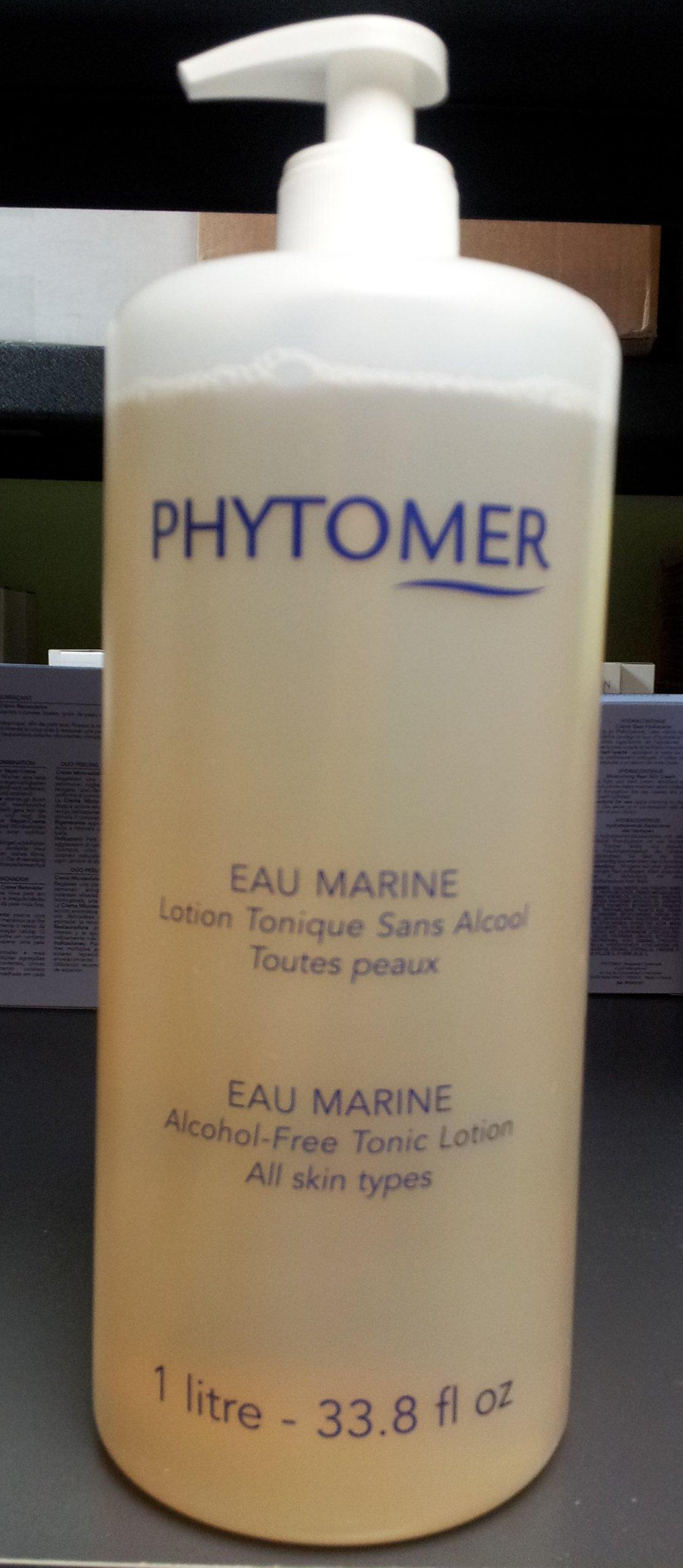 PHYTOMER Eau Marine Alcohol-Free Tonic Lotion Professional size 1 liter 33.8 fl oz (Huge, BIGGER Size)