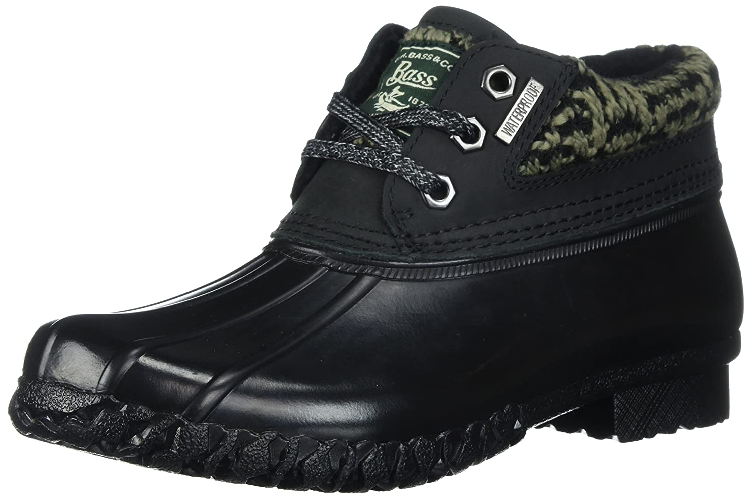 G.H. Bass & Co.. Women's Dorothy Rain Boot B06XRKMCFH 9.5 B(M) US|Black