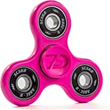 AUTHENTIC 7D CUSTOMS NEON - MADE IN USA - EDC Fidget/Tricks Spinner - Ultra Durable Unbreakable with FUSED BEARING TECHNOLOGY -- ABEC 9 Precision Bearings -- BPA & LEAD Free