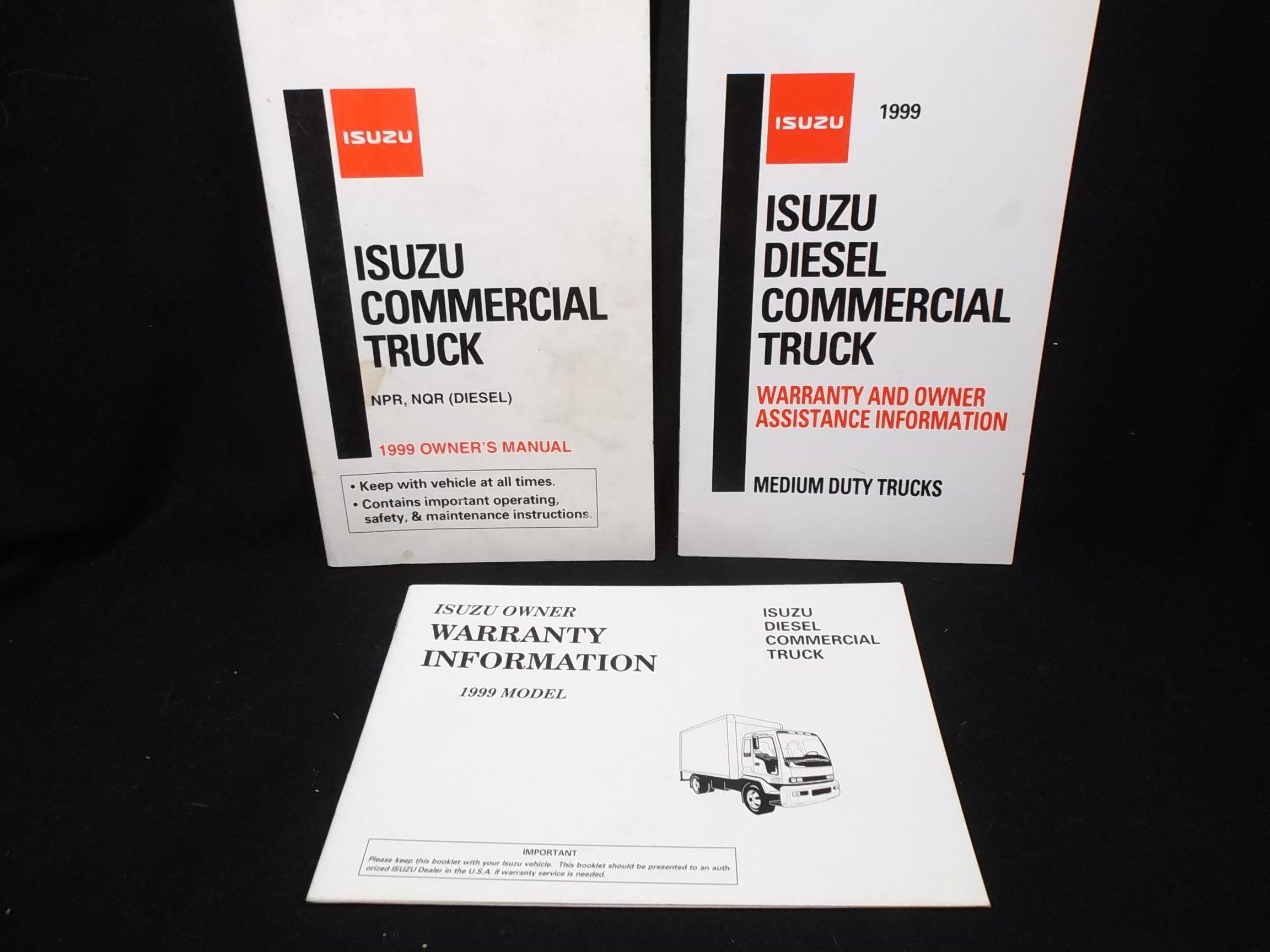 Isuzu NPR NQR Diesel 1999 Commercial Truck Owners Manual: Isuzu Truck of  America INC: Amazon.com: Books