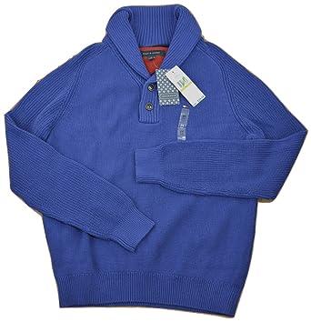 24f02ddcd741 Tommy Hilfiger Adler Shawl Collar Sweater Lapis Blue Medium at ...