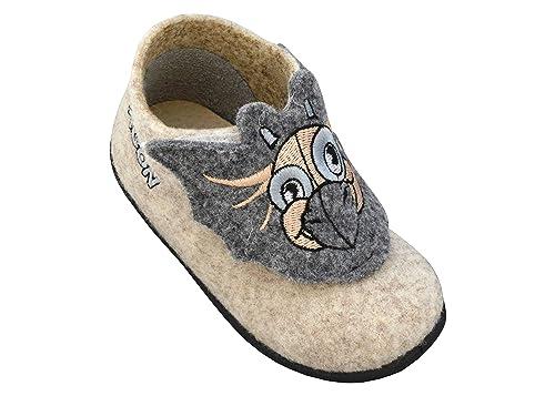 161964e0 3f freedom for feet Botas para Ninas/para Ninos Zapatillas Estar por casa  per Nina